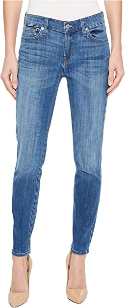 7 For All Mankind The Ankle Skinny in Broken Twills Desert Trails