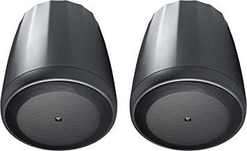 JBL C65P/T Compact Full-Range Hanging Pendant Speaker, Black (sold as pair)