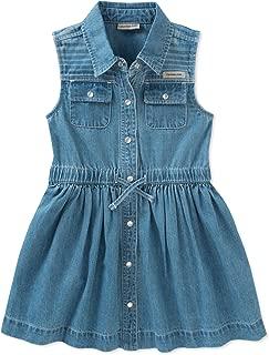 Calvin Klein Girls Denim Dress