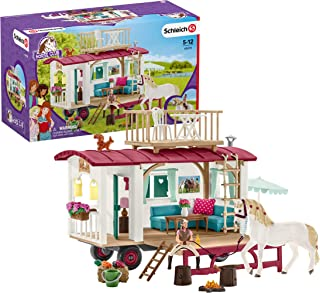 Schleich Horse Club Camper for Secret Club Meetings 43-piece Educational Playset for Kids Ages 5-12