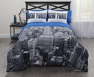 Casa Photoreal New York City Bed-in-a-Bag, King