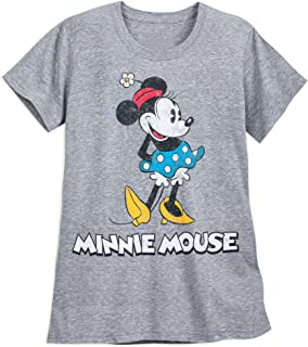 Disney Minnie Mouse Classic T-Shirt for Women - Gray Gray
