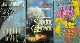 Three Sandra Brown Books - Mirror Image; Led Astray; Tiger Prince