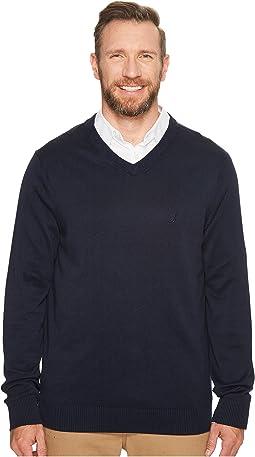Nautica Big & Tall - Big & Tall 12GG V-Neck Sweater