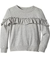 Hudson Kids - Heather Pullover Ruffle Sweatshirt (Infant)