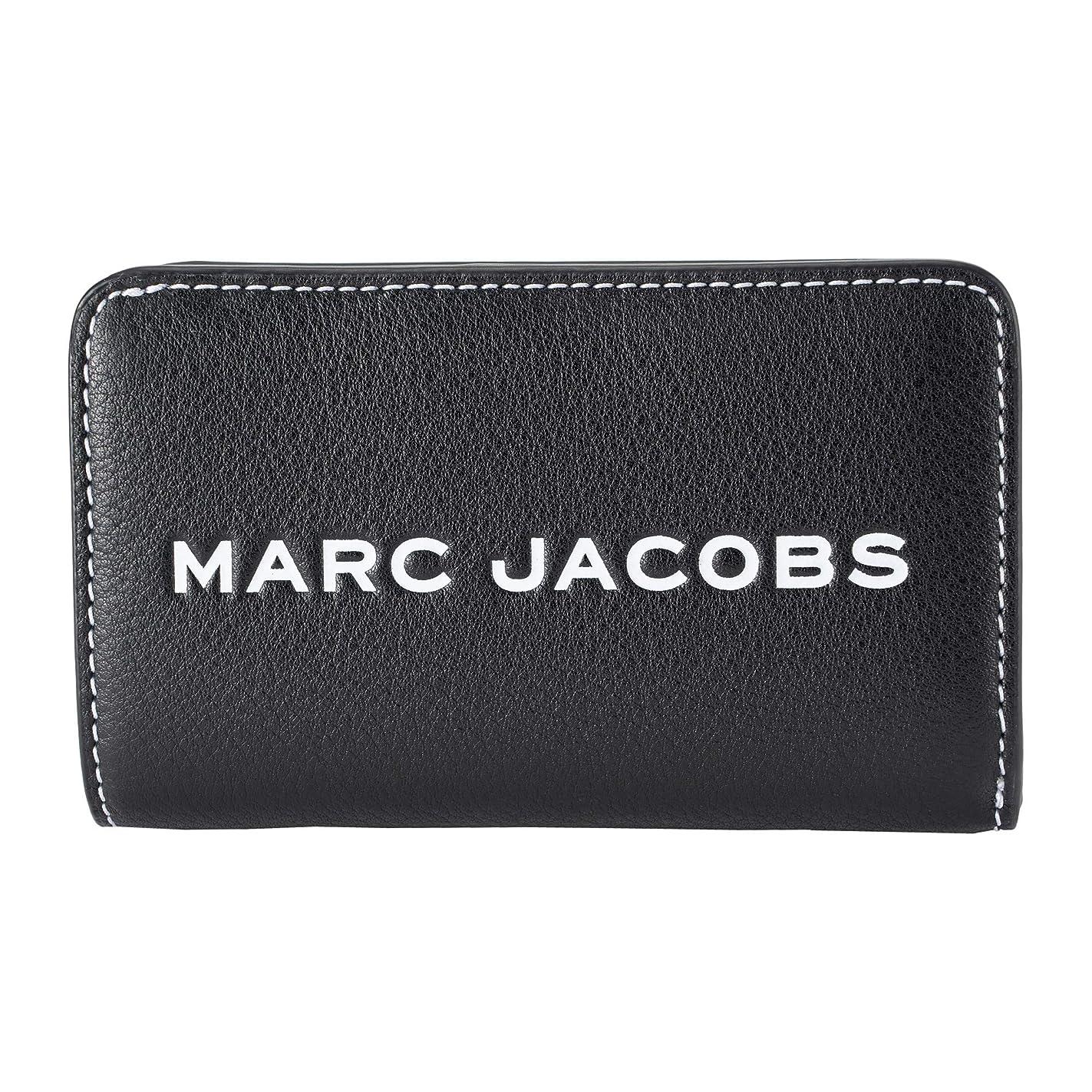 スライム実業家教義[マークジェイコブス]折財布 レディース MARC JACOBS M0014869 001 ブラック [並行輸入品]