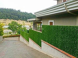 Weblonya Çim Çit Bahçe Çiti Yeşil Çit Kaplama 1,5 Metre X 10 Metre (Yeşil)