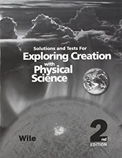 exploring creation with physical science test answers
