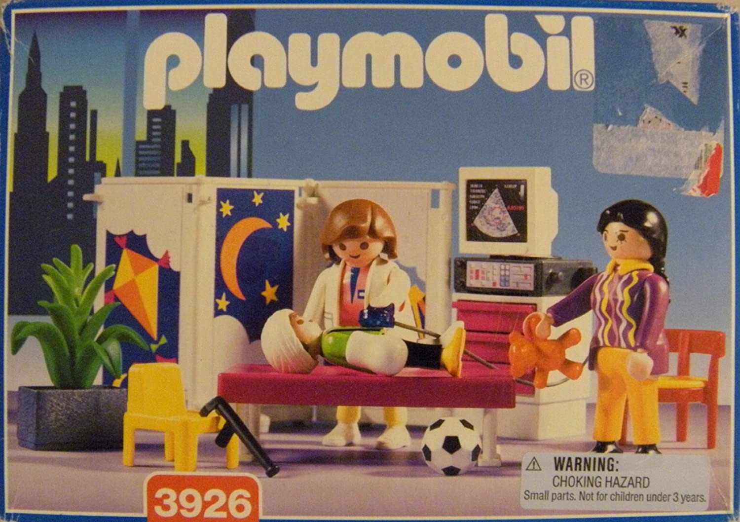 Playmobil rescue pediatrician 3926 (Japan import   The package and the manual are written in Japanese)