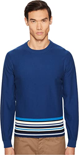 Paul Smith - Sweatshirt with Stripe Trim