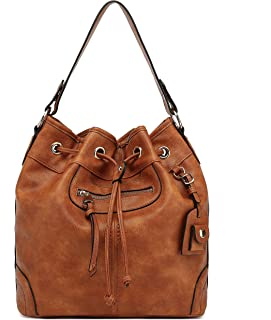 Scarleton Large Drawstring Handbag H1078