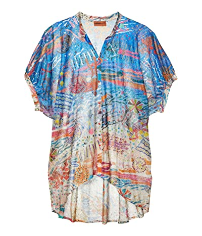 Missoni Mare Pinafore Printed Cover-Up Top (Multi) Women