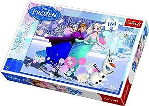 Trefl Disney Frozen Ice Skating Puzzle (160 Pieces)