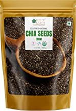 Bliss of Earth 500gm USDA Organic Raw Chia Seeds for Weight Loss, Raw Super Food
