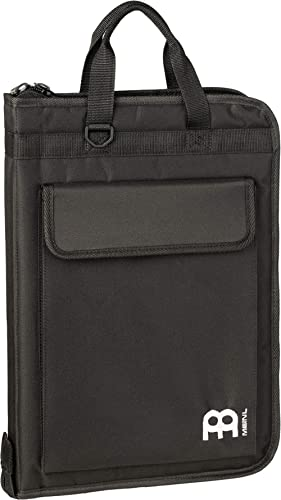 Meinl Percussion Drumstick Sling Bag, Extra Wide with Body Strap, Heavy-duty Nylon — Includes Floor Tom Hooks — Also ...