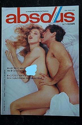 ABSOUS 63 Marcello MASTROIANI Le plus joli petit bordel Erotissimo JENNY & CAROLE