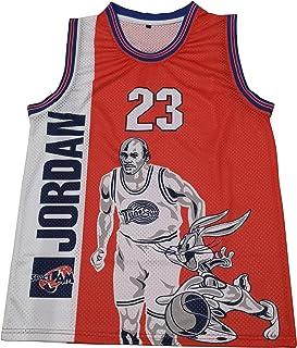 Michael Jordan 太空 Jam #23 Tune Squad 电影篮球男式
