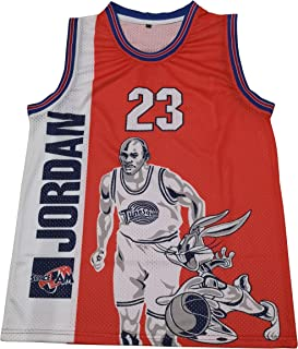 Kooy Jordan Space Jam #23 Tune Squad Movie Basketball Jersey Men
