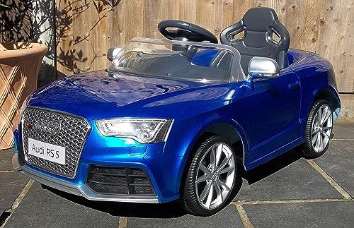 40% de descuento Audi RS5 - Coche deportivo deportivo deportivo con mando a distancia para Niños (12 V), Color azul (Producto con enchufe de UK)  tienda en linea