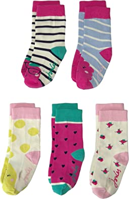 Sox Box 5-Pair Set (Toddler/Little Kid)