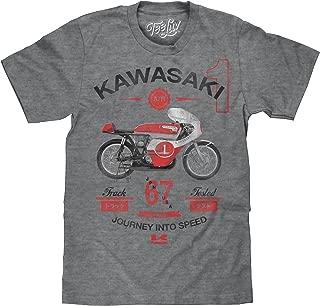 Tee Luv Kawasaki Motorcycle T-Shirt - Journey Into Speed A7R Racing Shirt