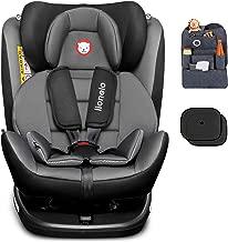 Lionelo Sander Kindersitz Autositz schwarz ISOFIX Reboarder 0+//III 36kg drehbar