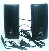 Vivitar Compact Speaker System Crystal Clear System Sound Blk