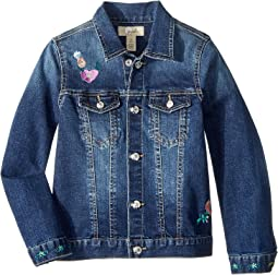 PEEK - Floral Denim Jacket (Toddler/Little Kids/Big Kids)