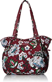 Vera Bradley Iconic Glenna Satchel, Signature Cotton