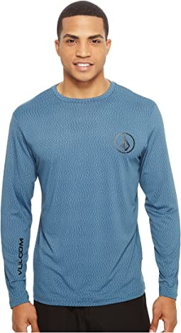 Volcom - Distortion Long Sleeve Loose Fit Rashguard