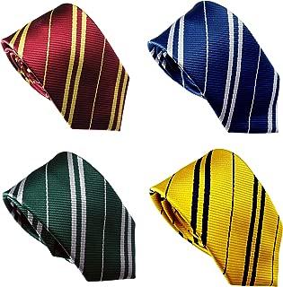LilMents 4 Pack Pinstriped Formal Necktie Tie Set