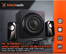 Blackweb BWA17HO011 2.1 Pc Speakers