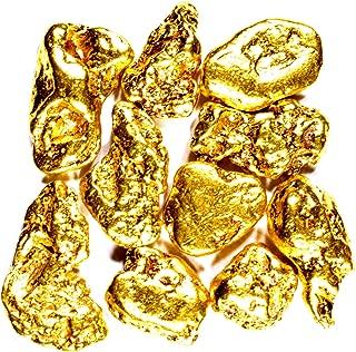 50 Piece Alaskan Yukon BC Natural Pure Gold Nuggets