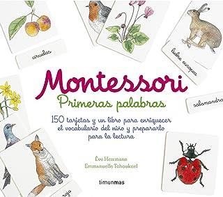 Montessori. Primeras palabras: 150 tarjetas y un libro para