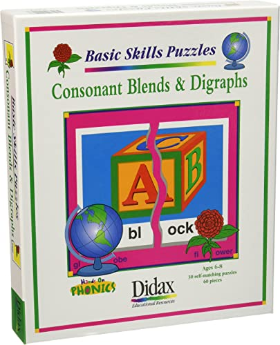 Didax Educational Resources Konsonanten Blend & digraph Puz