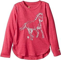 Carhartt Kids - Force Run Free Horse Tee (Little Kids)