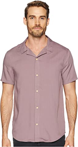 Modal Short Sleeve Beach Shirt