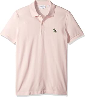 Lacoste Men's S/S Regular Pique with Embroidered Graphic Polo Reg Fit