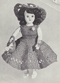 14 Doll Clothes Cowboy Hat Vest Top Pants Mary Hoyer This is a pattern and//or instructions to make the item only. Vintage Knitting PATTERN to make