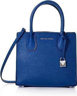 MICHAEL Michael Kors Mercer Medium Leather Crossbody Bag - Electric Blue 30F6SM9M2L-446