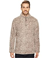 True Grit - Frosty Tribal Cord Pile 1/4 Zip Pullover