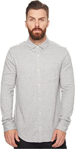 Original Penguin - Long Sleeve Knitted Nep Shirt