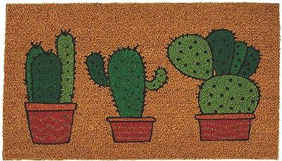 Oriental Trading Fiesta Cactus Coir Mat for Cinco de Mayo