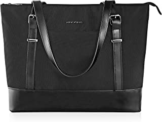 KROSER Laptop Tote bag 15.6 Inch Large Shoulder Bag Lightweight Water-repellent Nylon Computer Tote Bag Women Stylish Hand...