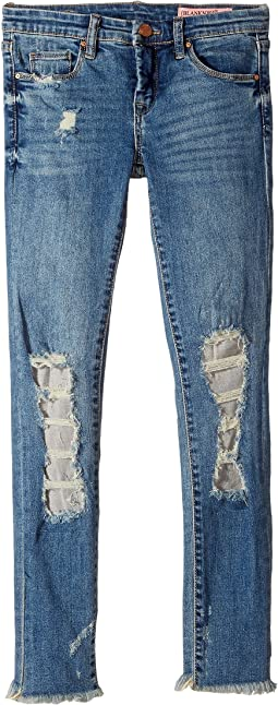 Blank NYC Kids - Denim Distressed Skinny in Full Smash (Big Kids)