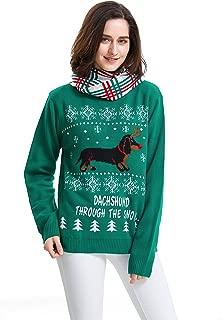 Best dachshund through the snow jumper Reviews