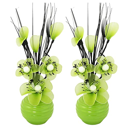 Green Vases And Ornaments Amazon Co Uk