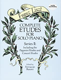 Complete Etudes for Solo Piano, Series II: Including the Pag