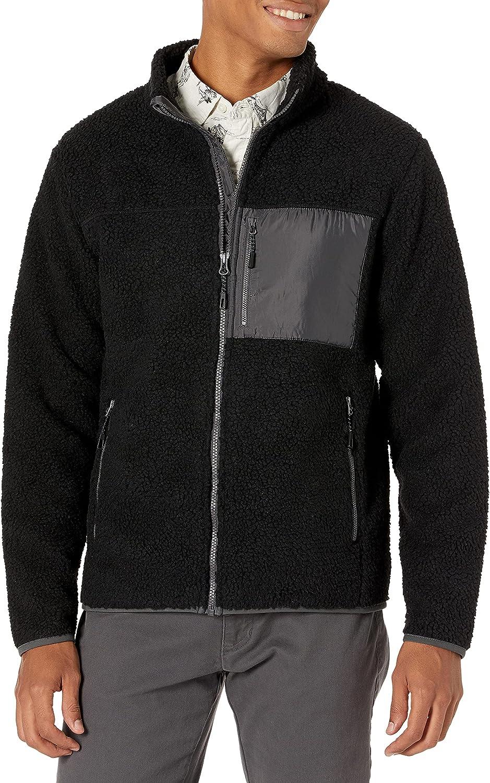 Goodthreads New York Mall Men's Sherpa Fullzip Jacket Fleece Special price
