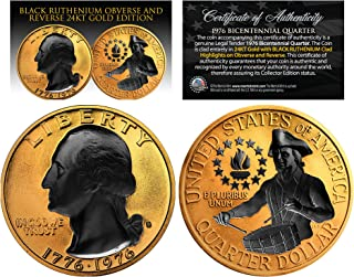 Best gold plated bicentennial quarter Reviews